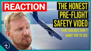 """""""The HONEST pre-flight safety video"""" - Reaction!"""