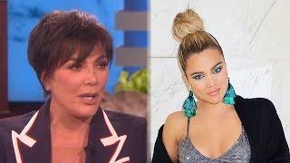 Kris Jenner TEARS UP While Talking About Khloe Cheating Scandal On Ellen