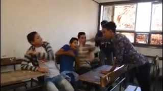 مواقف مضحكه الفرق بين المدارس الثانوى فى مصر وبره مصر