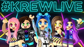 Krew plays funny games in Roblox!