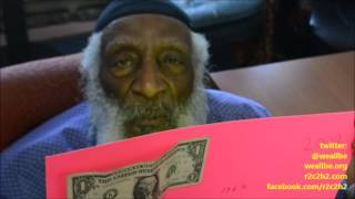 Baba Dick GREgory Uses $1 Dollar To Show WHEn & WHERE JFK Was AssassINated