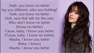 Major Lazer ~ Know No Better ft. Travis Scott, Camila Cabello & Quavo ~ Lyrics